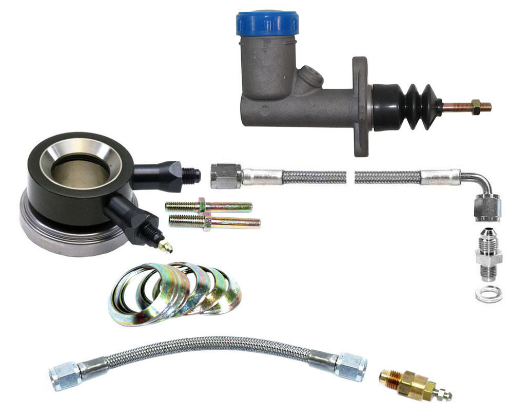 Hydraulic Clutch Bleeding : Hydraulic throwout bearing master cylinder kit w bleed ebay