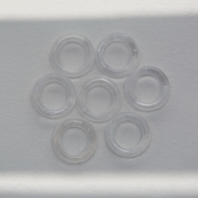 clear plastic rings 10mm pack of 100 ebay. Black Bedroom Furniture Sets. Home Design Ideas