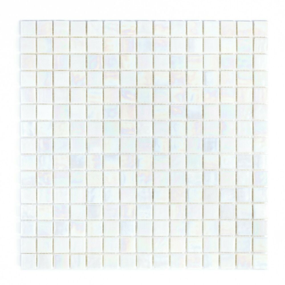 iridescent bathroom tiles white iridescent mosaic glass tile for kitchen amp bath ebay 13276