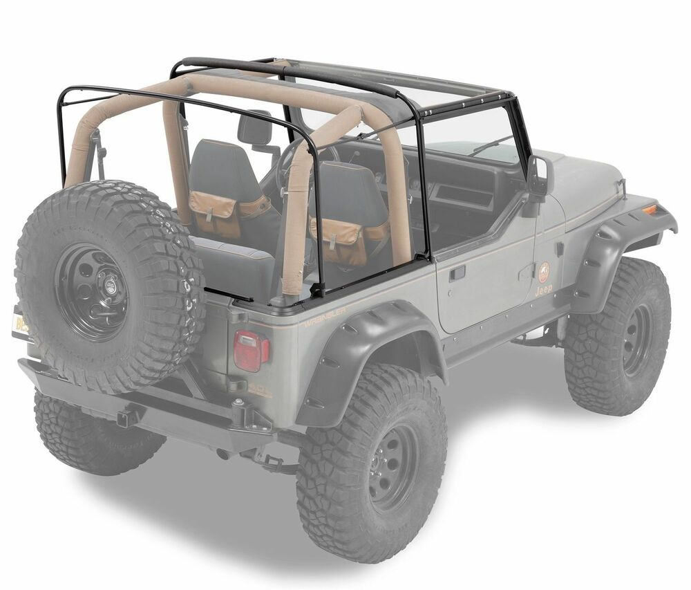 Jeep Wrangler Replacement Soft Top >> 1988-1995 Jeep Wrangler Soft Top Complete Hardware and Frame Kit | eBay