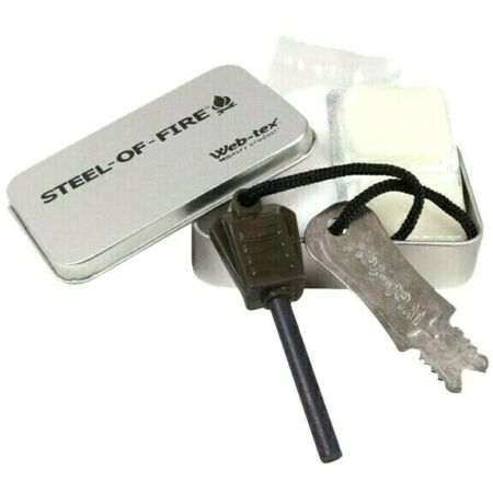 img-WEB-TEX UK MILITARY FIRE STARTING KIT Survival olive Army tin inc fuel tablets