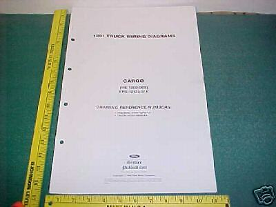 1991 ford cargo truck tractor wiring diagrams manual ebay. Black Bedroom Furniture Sets. Home Design Ideas