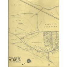 Mount Kisco NY 1911 Maps with Homeowners or landowners Names Shown
