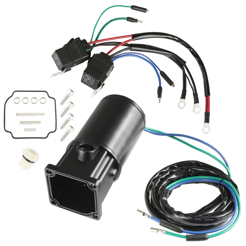 Force outboard 75 125 tilt trim motor new 824051 ebay for Tilt trim motor not working
