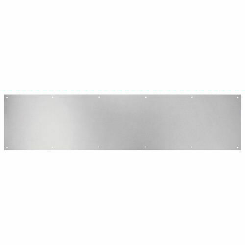 "Small Pewter Door Kick Plate: Satin Nickel Kick Plate 6"" X 34"" Kickplate"