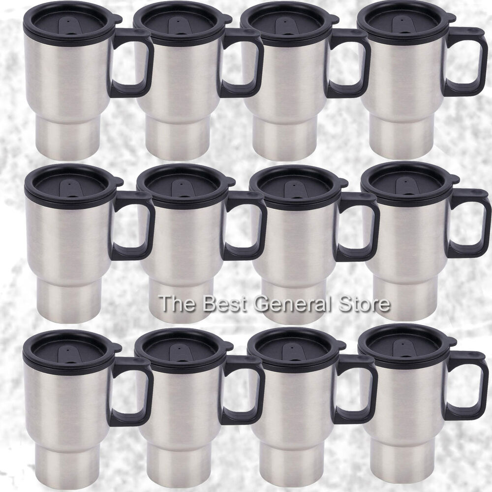 Personalized Stainless Steel Coffee Mugs & Travel