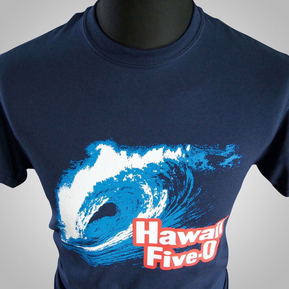 Hawaii Five O Tv Themed Retro T Shirt Cool Vintage Hipster