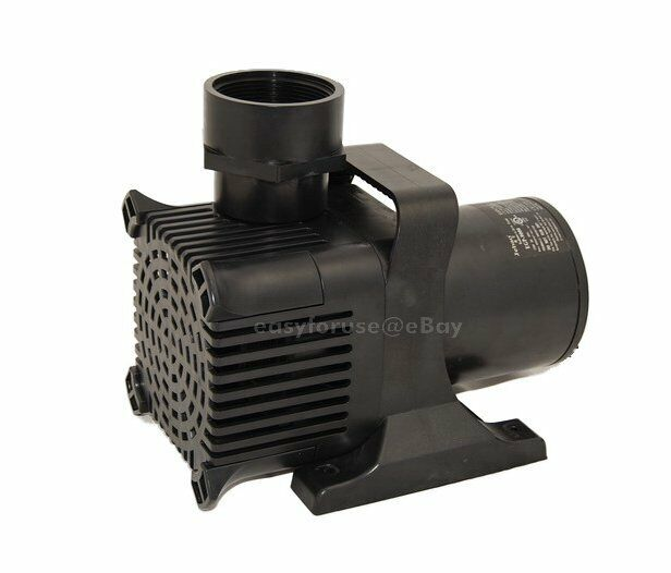 New submersible water fall koi pond pump 9000 gph for for Koi pool pumps
