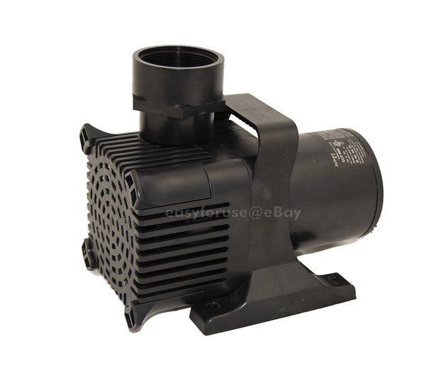 New submersible water fall koi pond pump 9000 gph for for Koi fish pond water pump