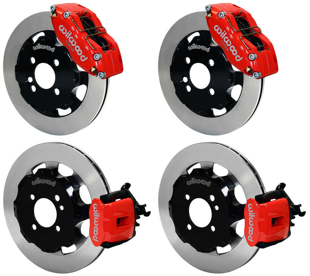 wilwood disc brake kit complete mini cooper s bmw 12 rotors red calipers ebay. Black Bedroom Furniture Sets. Home Design Ideas