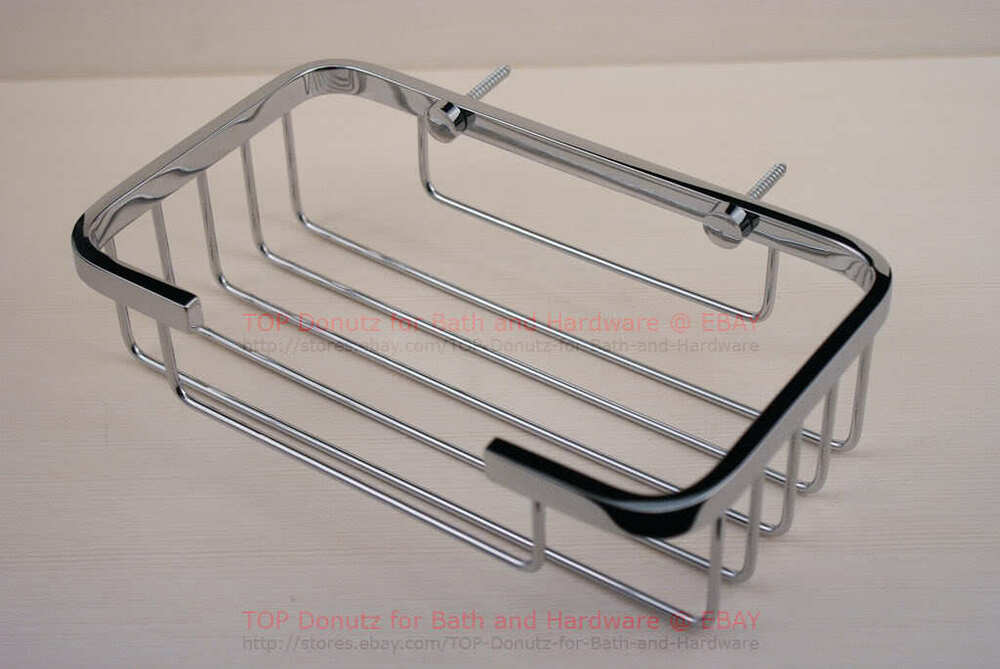Ultra High Grade Stainless Steel Bathroom Caddy Shower Ebay