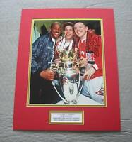 LEE SHARPE Manchester United Hand SIGNED Autograph Photo Mount Display + COA