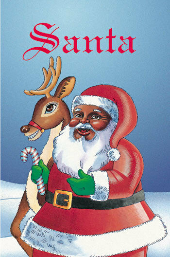 unique christmas cards santa personalized children book ebay 29007