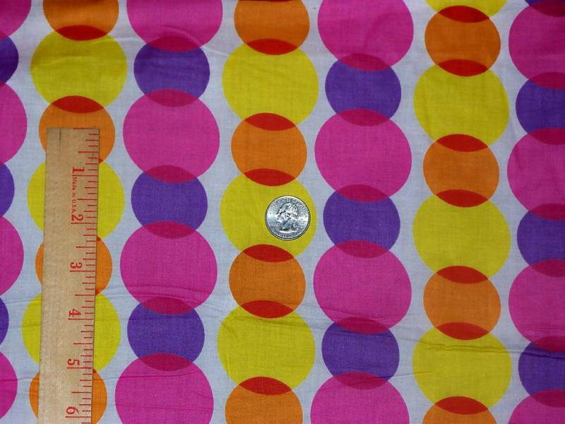Geormetry Two Bright Colored Polka Dots Springs Global ...
