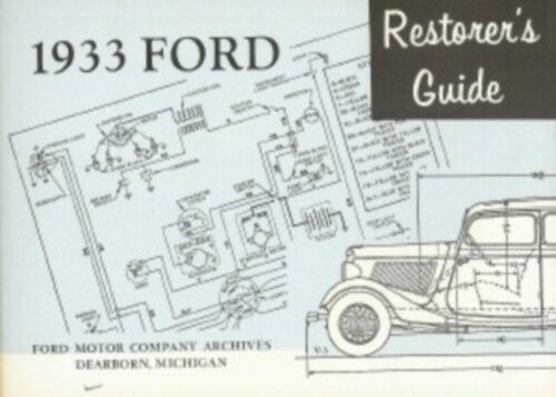 1929 1930 1931 1932 1933 Chevy Pickup Truck Shop Service