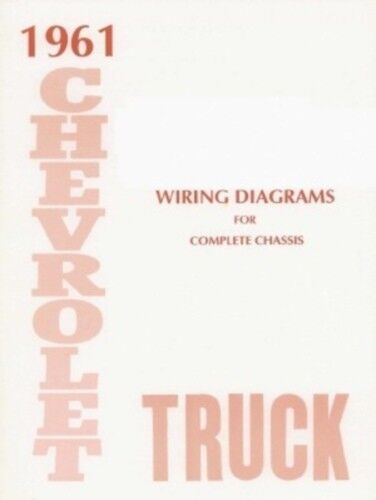 chevrolet 1961 truck wiring diagram 61 chevy pick up | ebay 61 chevy truck wiring diagram