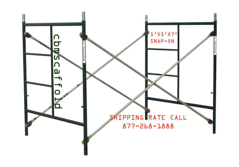 Snap On Scaffolding : Snap on  masonry scaffolding box frame set