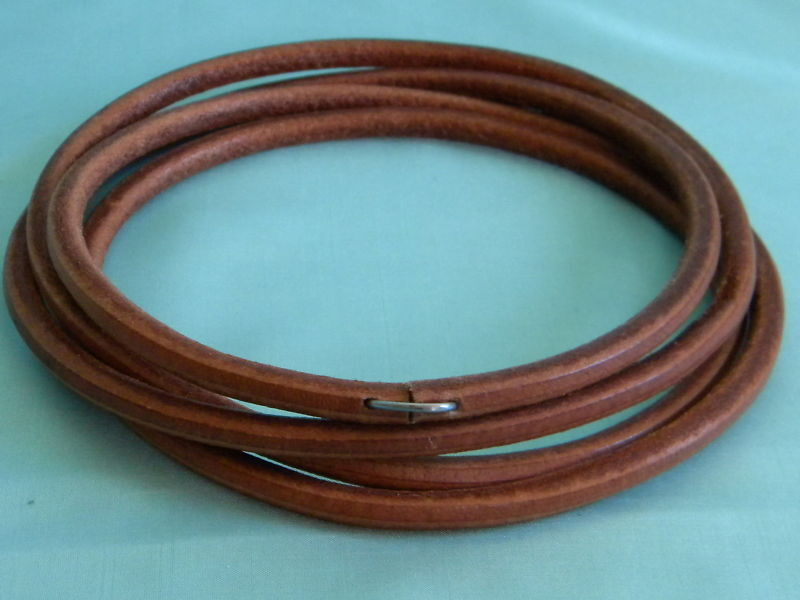 72 quot leather treadle belt 4 sewing machine 3 8 quot ebay