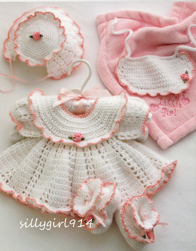 Quot 4 Adorable Baby Sets Quot Annie S Attic Crochet Pattern Book