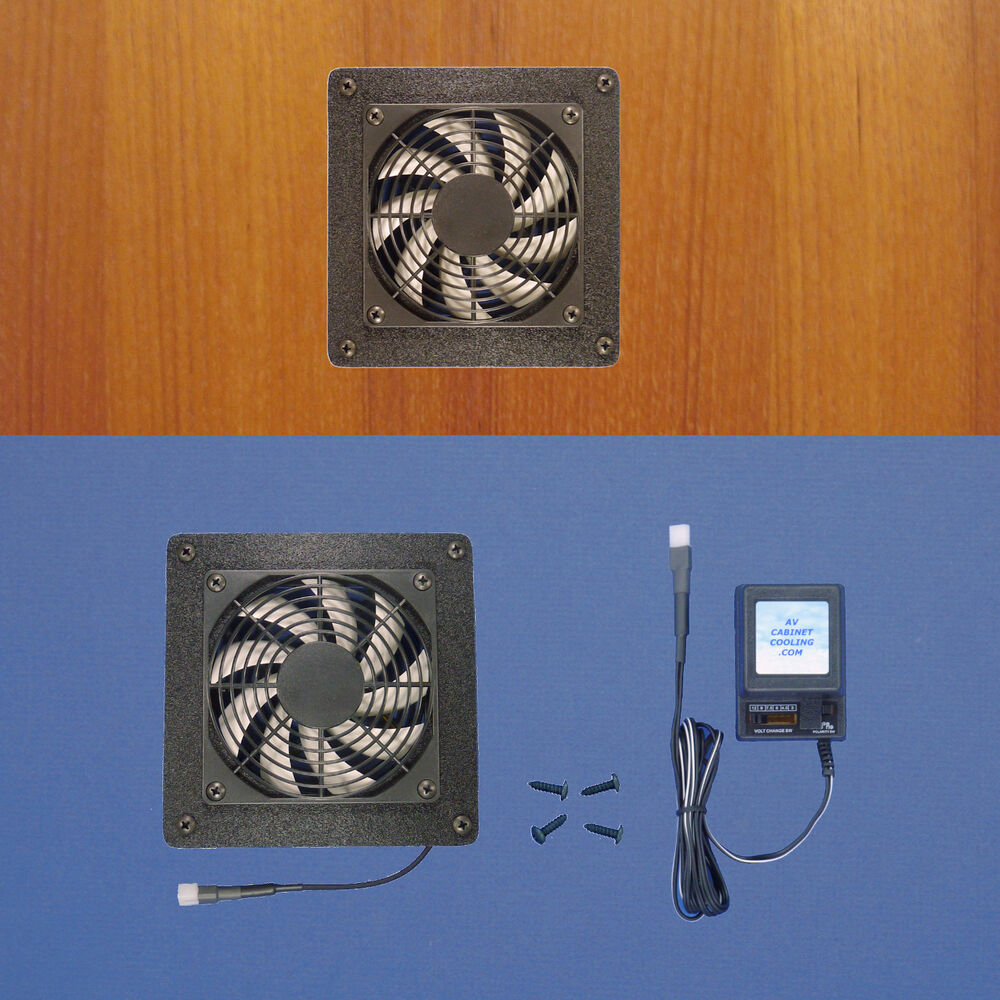 Mega Fan Enclosed Cabinet Av Cooling Fan Multi Speed