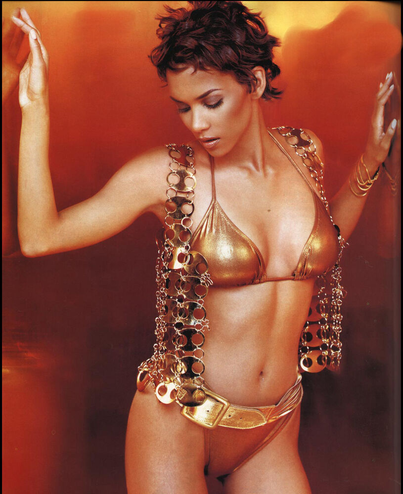 More than Halle berry very sexy what