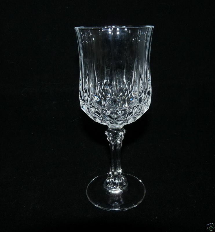 cristal d 39 arques durand longchamp wine glass ebay. Black Bedroom Furniture Sets. Home Design Ideas