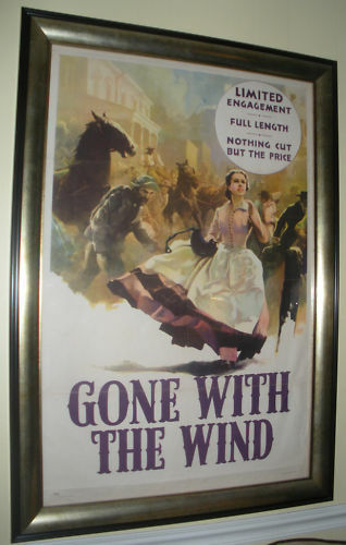 Quot Gone With The Wind Quot Original 1939 Movie Poster