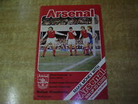 1978/79 DIVISION ONE - ARSENAL v BOLTON WANDERERS