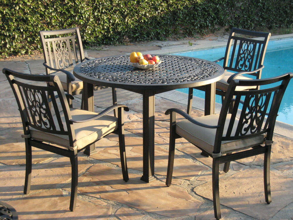 Heaven Collection Outdoor Living Aluminum Patio Furniture ... on Outdoor Living Set id=63478