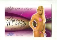 2008 Benchwarmer  Pink  Mary Riley  Autograph 6/50