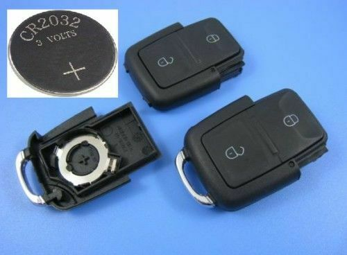 seat leon ibiza 2 button remote key fob case battery ebay. Black Bedroom Furniture Sets. Home Design Ideas