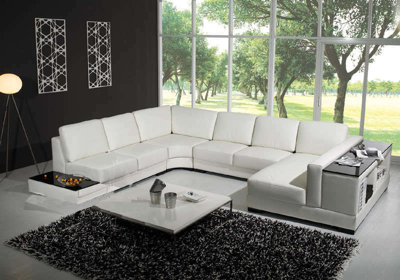 divano libreria pelle sofa americano soggiorno 12 posti ebay. Black Bedroom Furniture Sets. Home Design Ideas