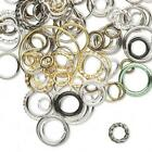 jumpring mix lot of sizes and colors 2-18mm  10 grams