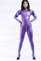 Latex/Rubber 0.45mm Catsuit Suit Gothic Costume puff