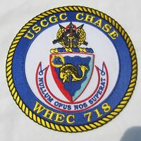 USCG PATCH - USCGC CHASE WHEC-718