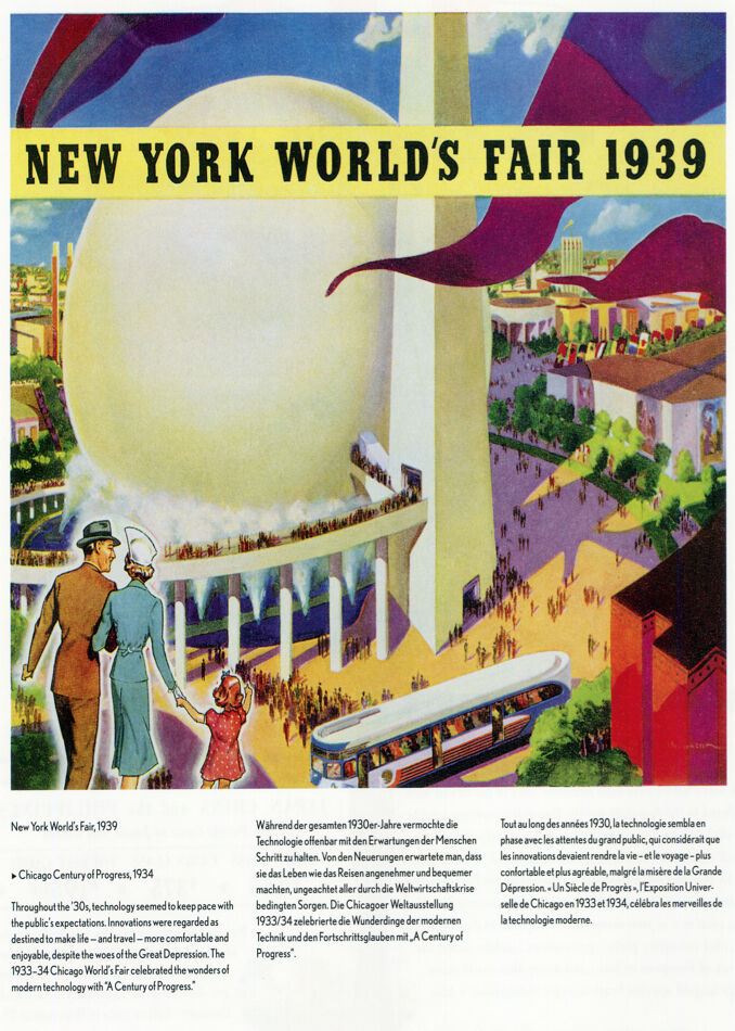 travel poster stylish graphics new york world 39 s fair 1939 decor art 1779 ebay. Black Bedroom Furniture Sets. Home Design Ideas
