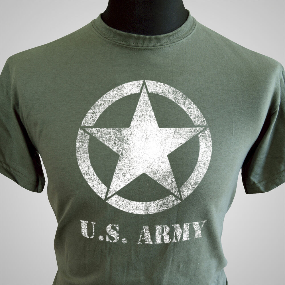 us army retro forces t shirt vietnam wwii war army vintage cool tee camo ebay. Black Bedroom Furniture Sets. Home Design Ideas
