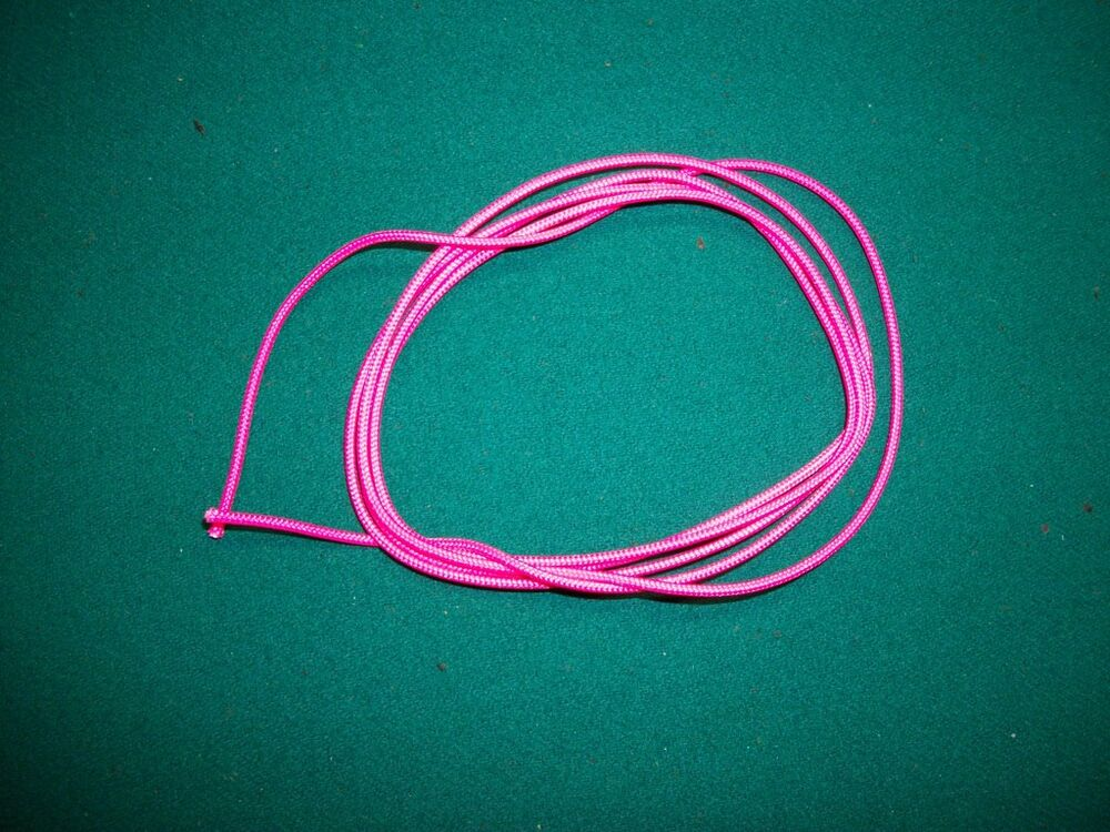 3/' Charcoal D Loop Material /& Archery Bowstring Rope Drop Away Cord