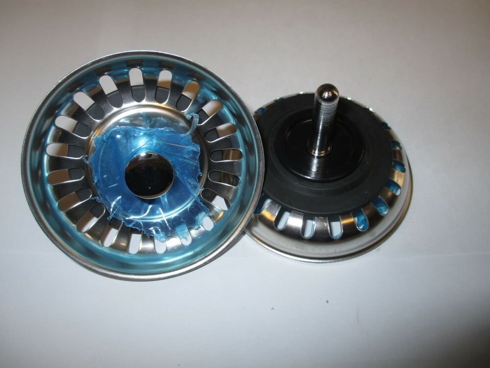 KITCHEN SINK STRAINER WASTE PLUG McALPINE BWSTSS TOP
