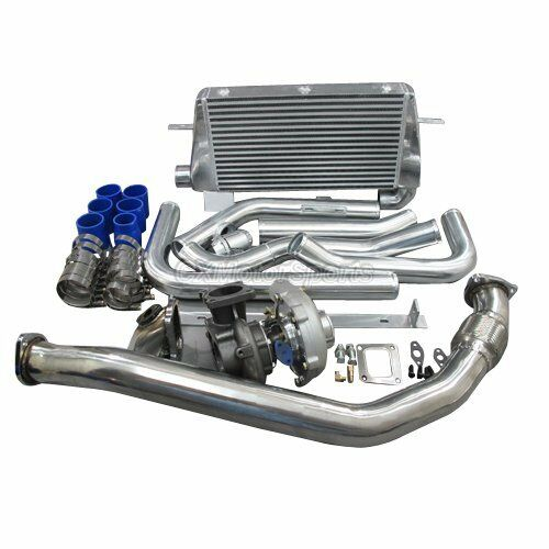 Turbo Intercooler Downpipe Oil Line Kit For 1986-1992