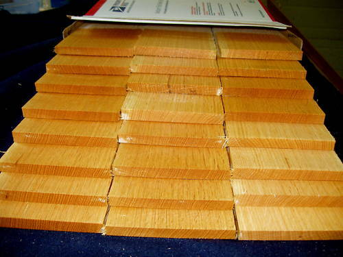 38 thin QS oak boards lumber wood crafts  eBay