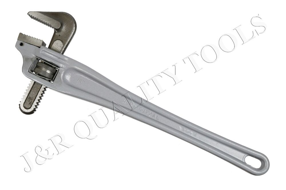 18 Quot 90 Degree Offset Aluminum Pipe Wrench Plumbing