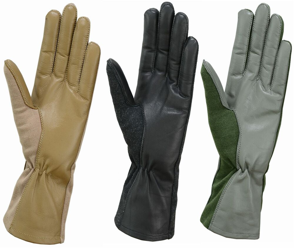 Kids Tactical Black Gloves