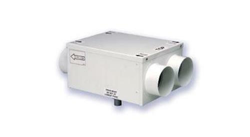 Whole house in line heat recovery ventilation system kit for Whole house heating systems