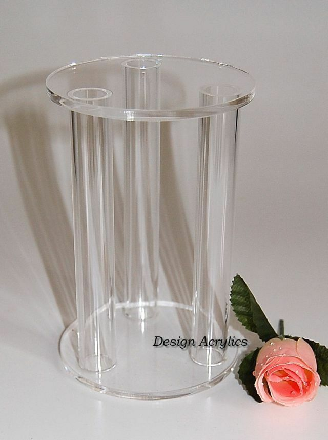 Clear Mini Acrylic Cage Separator Wedding Cake Stand 5 Quot Ebay