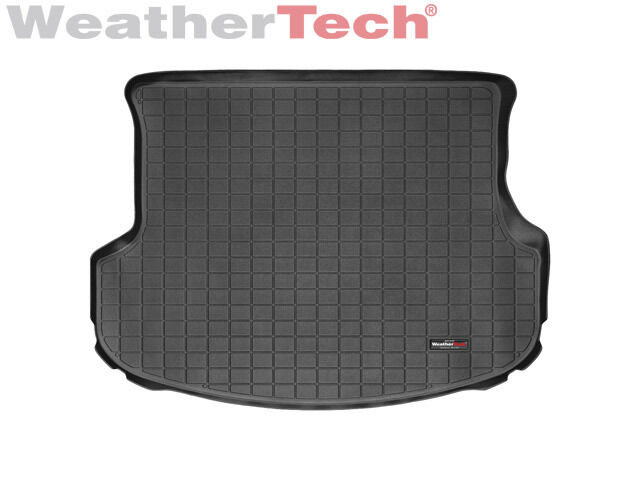 weathertech cargo liner for kia sorento without 3rd row seats 2011 2013 black ebay. Black Bedroom Furniture Sets. Home Design Ideas