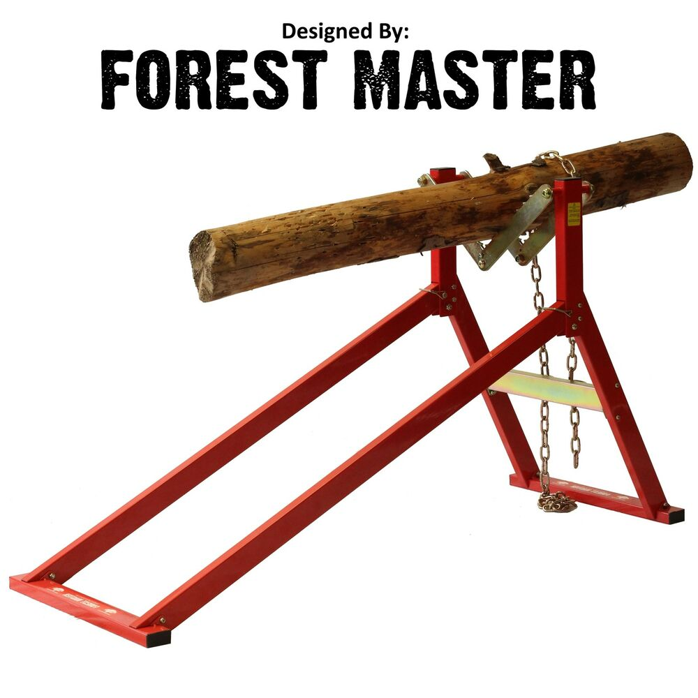 Ultimate Saw Horse Wood Log Holder For Chainsaw Cutting