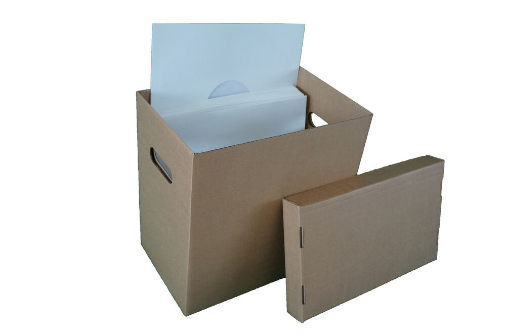 10 X 12 Quot Vinyl Record Storage Boxes For Lp S Singles Ebay