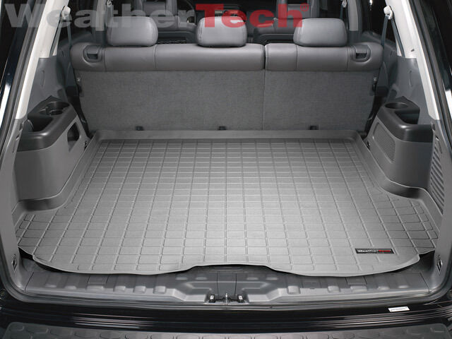 weathertech cargo liner 2003 2008 honda pilot grey ebay. Black Bedroom Furniture Sets. Home Design Ideas