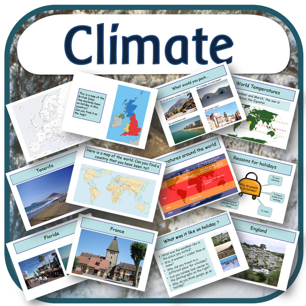 ks2 geography topic weather world climate zones primary teaching resources cd ebay. Black Bedroom Furniture Sets. Home Design Ideas